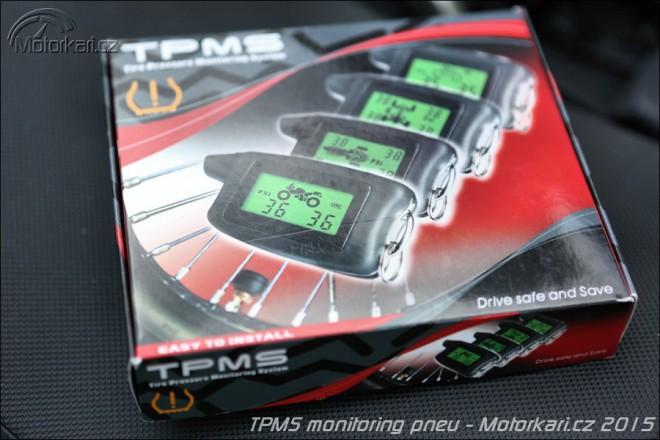 TPMS - bezdrátový monitorovací systém tlaku a teploty pneu