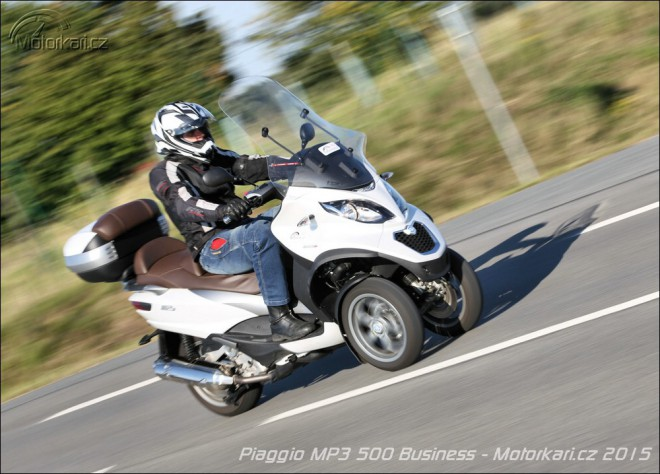 Piaggio MP3 500 Business - komfort na tøech kolech