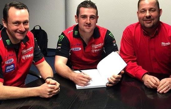 Dunlop podepsal s Milwaukee Yamaha