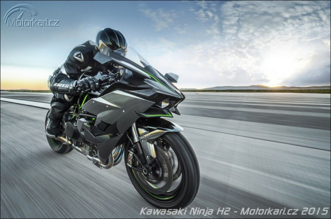 Kawasaki Ninja H2R: turbo-mega-super-bike