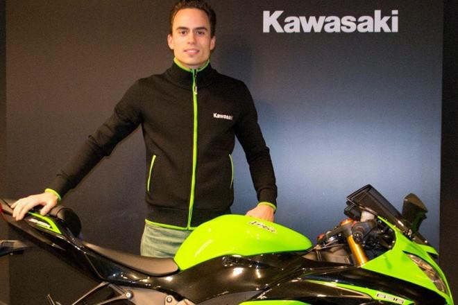 Rob Hartog pojede v tøídì STK600 s MtM Kawasaki