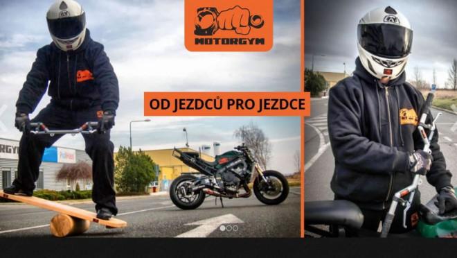 Motorgym: moto-fitko na doma