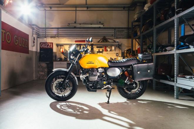 Moto Guzzi pøedstavilo tuningové sady pro model V7