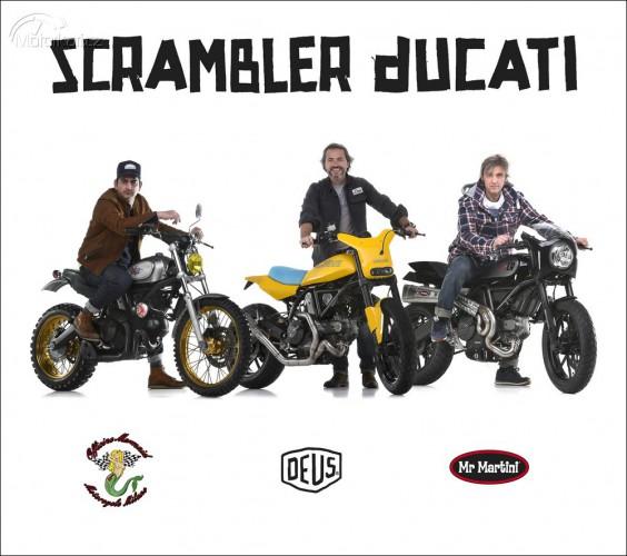 Ducati pøedstavila pøedìlaného Scramblera