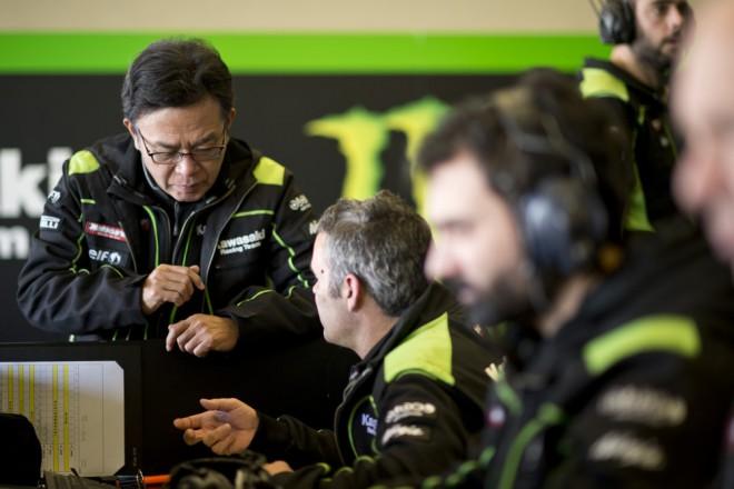 S testy v Jerezu jsou u Kawasaki spokojení
