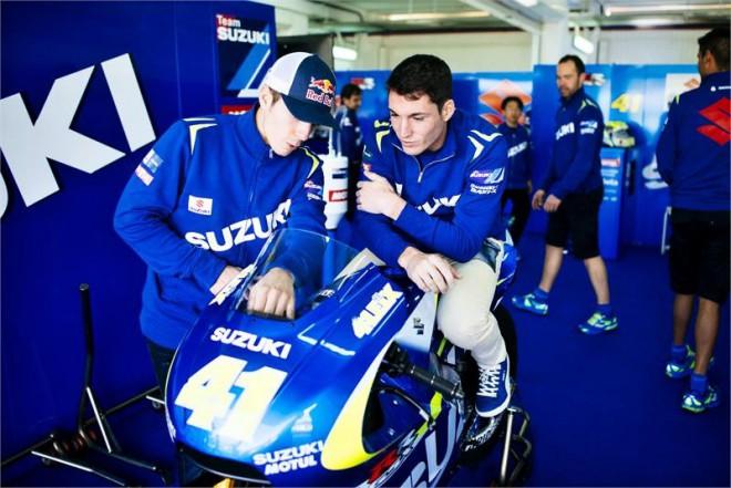 Oba jezdci Suzuki cítí pøed testy silnou motivaci
