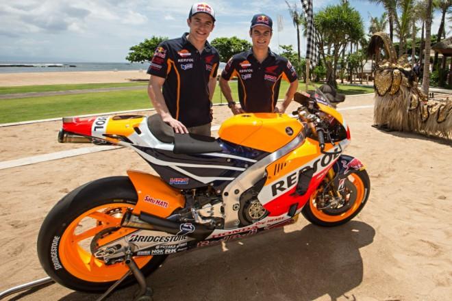 Prezentaci týmu mìla Honda MotoGP na Bali