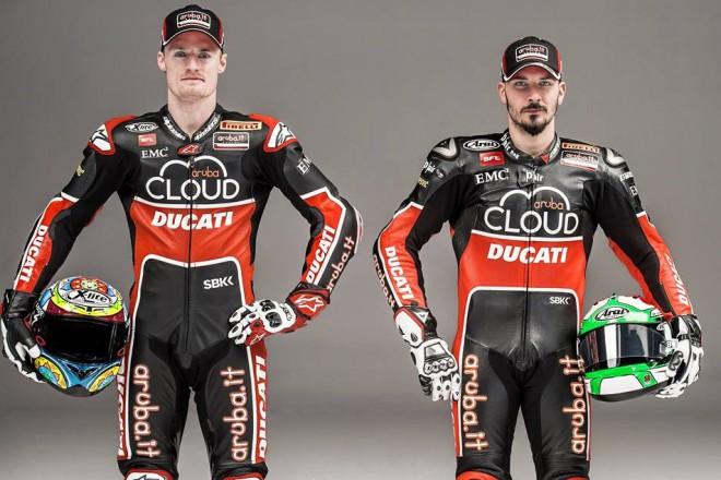 Superbikový tým Ducati v nových barvách 2015