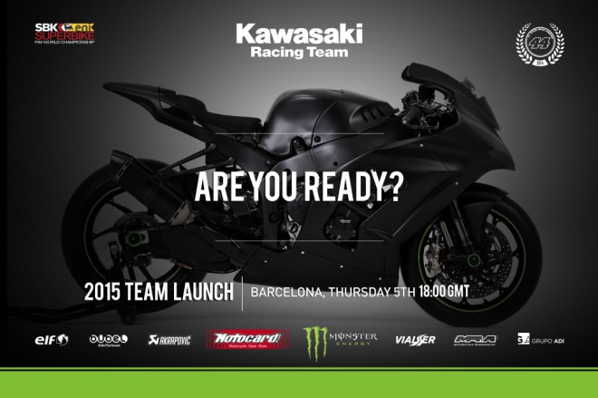 Kawasaki Racing pøedstaví týmové barvy v Barcelonì