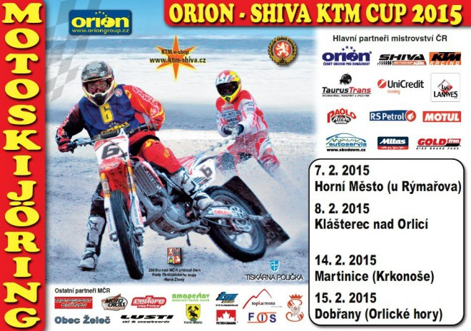 První závody MÈR v motoskijöringu zahájí o víkendu sezonu 2015