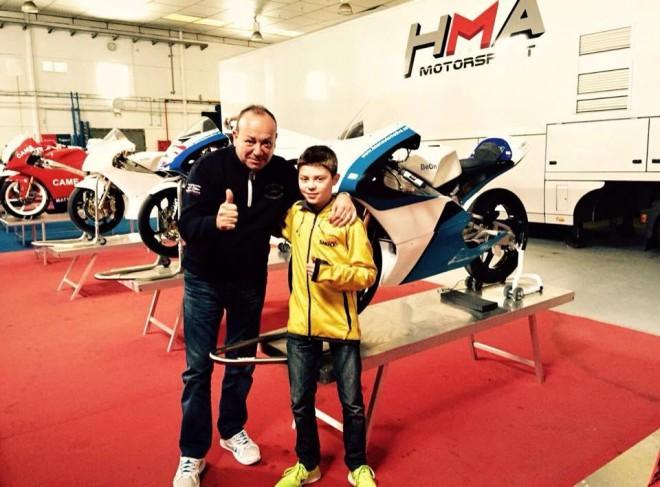 Filip Salaè jezdcem týmu Llinsual HMA Racing