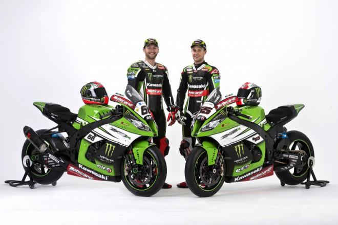 Kawasaki pøedstavila v Barcelonì superbikový tým