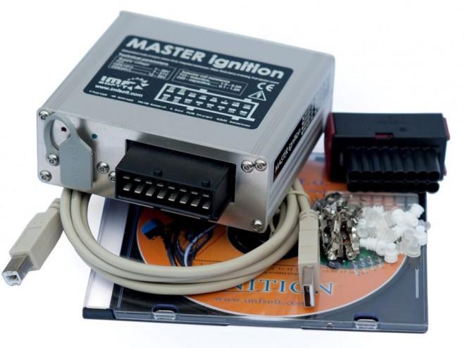 �irokospektr�ln� ECU MASTER ignition