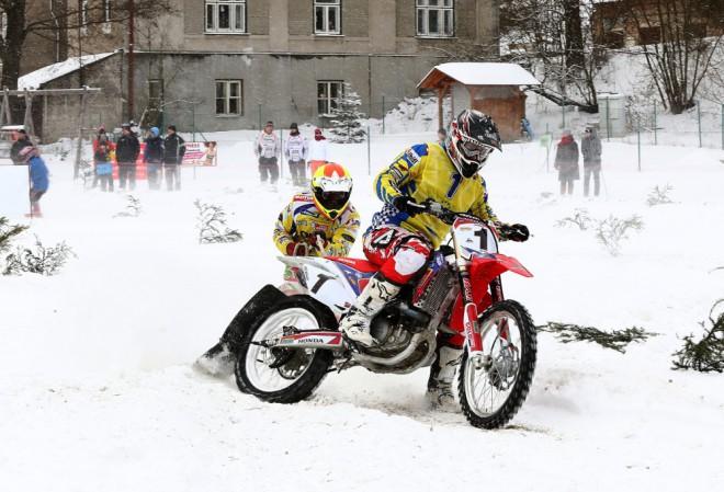 Úvodní podnik MÈR v motoskijöringu vyhráli jezdci Orion-RS Petrol