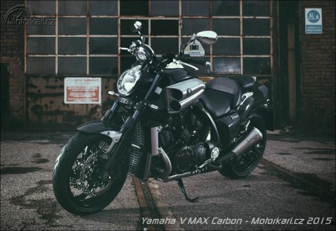 Yamaha pøedstavuje nový V MAX Carbon