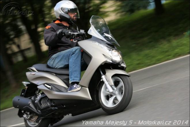 Yamaha Majesty S za akèní cenu