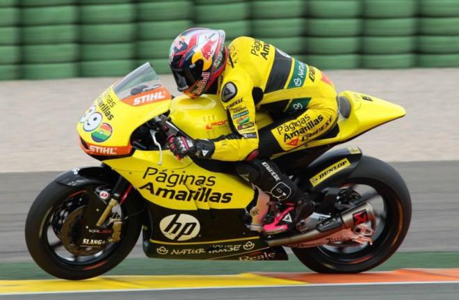 Testy Moto3/Moto2 -Valencia; 1. den