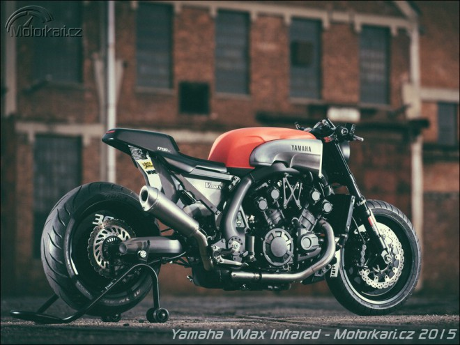Yamaha VMAX Yard Build Infrared