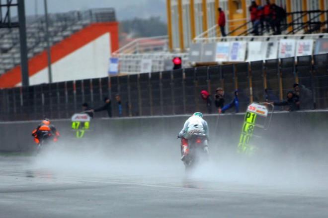 Testy Moto3/Moto2 - Valencia; 3. den