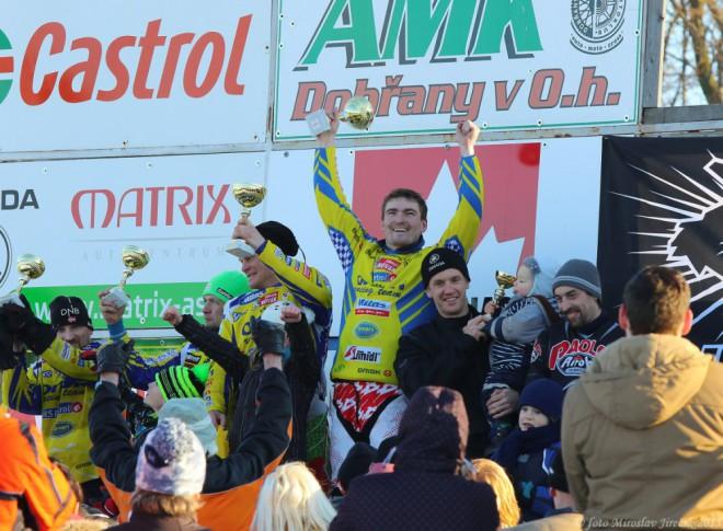 Finále MÈR 2015 v motoskijöringu