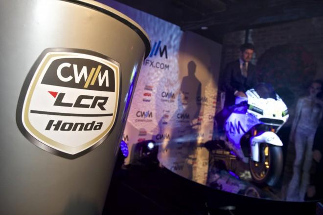 Tým CWM LCR Honda pøedstavil barvy pro sezonu 2015