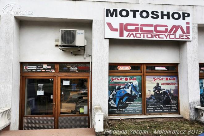 Motoshop Yacomi - vše pro motorkáøe