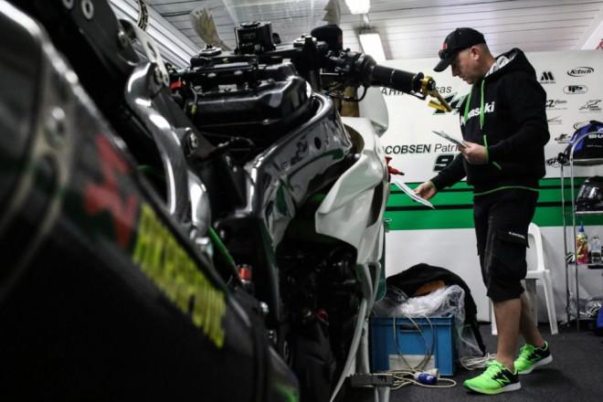 Z Austrálie veze Kawasaki Intermoto šest bodù za desáté místo