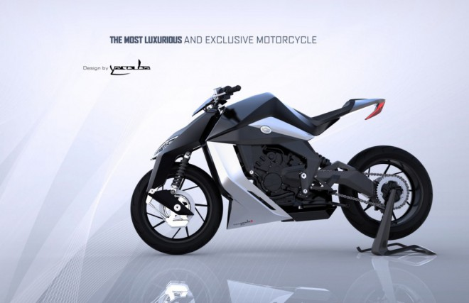 Futuristický bike Yacouba FelineOne