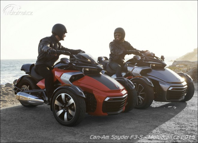 Nov� Can-Am Spyder F3-S na v�stav� Motosalon