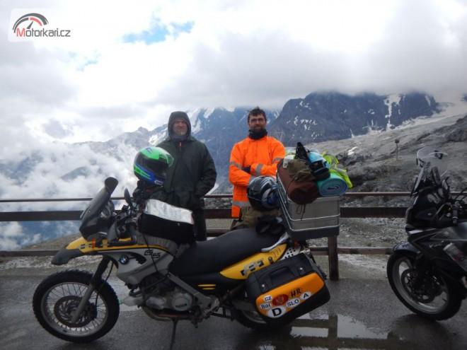 Mototuristika v Julských alpách