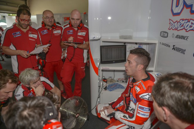 Úspìšná premiéra Ducati GP15