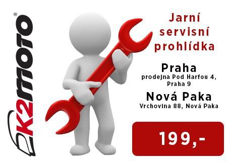 Jarní servisní prohlídka v K2 MOTO – Praha a Nová Paka