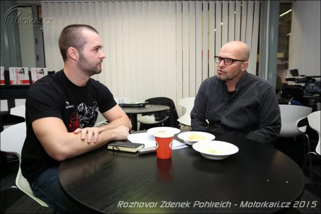Minirozhovor se Zdeòkem Pohlreichem