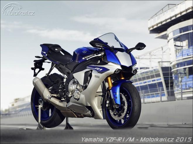 Motocyklem roku 2015 je Yamaha YZF-R1