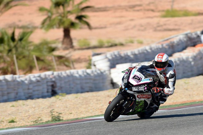 T�my BSB testovaly v Cartagen�, nechyb�l jezdec Ducati Jakub Smr�