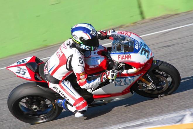 Althea Racing testovala Ducati s týmem STK1000