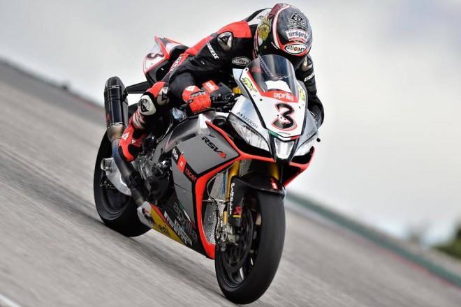 Biaggi testoval superbikovou Aprilii