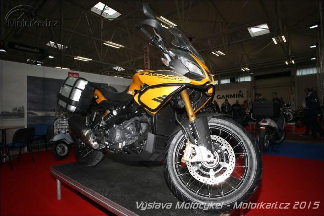 Fotoreport z výstavy Motocykel
