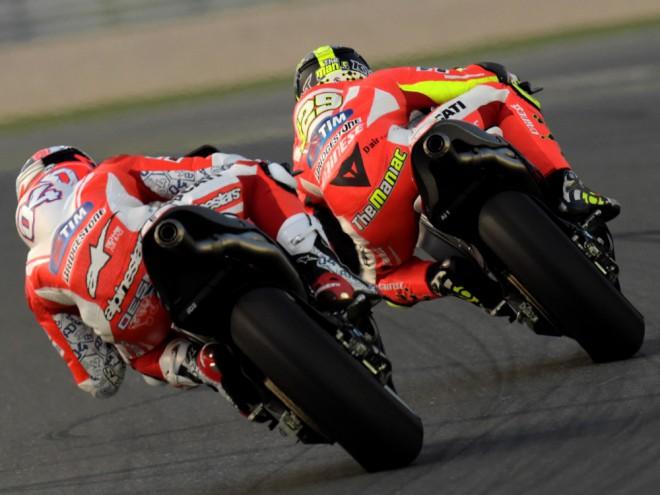 Ducati je zatím v Kataru nejrychlejší