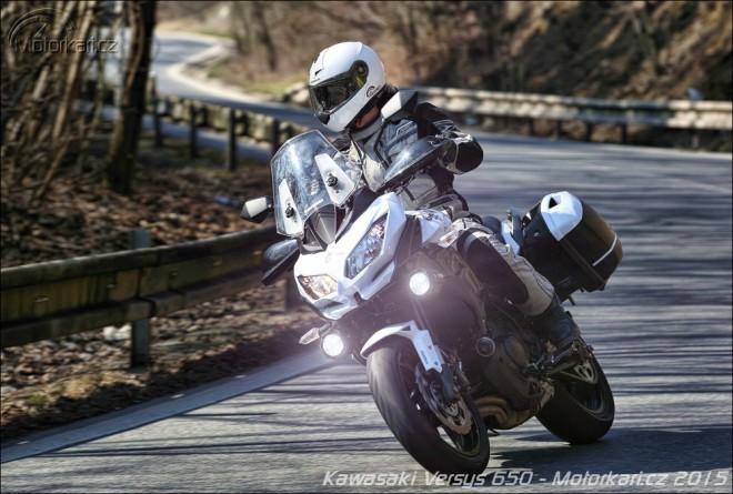 Kawasaki Versys 650: o kus dál