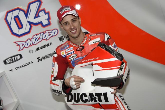 Ducati pokra�uje v nastaven�m tempu, tentokr�t exceloval Dovizioso
