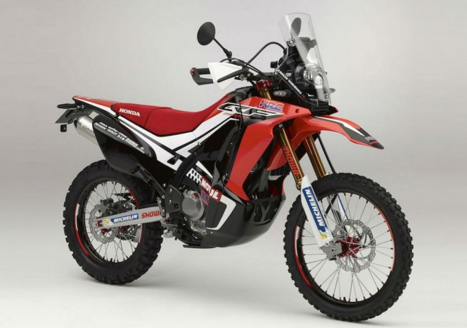 Honda CRF250 Rally: Dakar replika pro hobbíky?