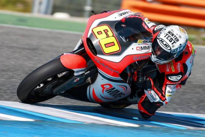 Test Moto2 � Z�v�r de�tiv�ho dne nejl�pe zvl�dl Simon