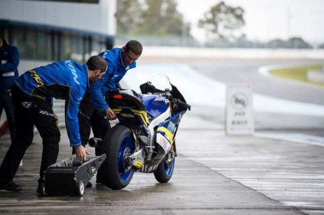 Test Moto2 – Tøetí den první Schrötter, celkovì je nejrychlejší Lowes