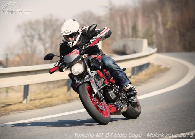 Yamaha MT-07 Moto Cage - oprsklej vejrostek