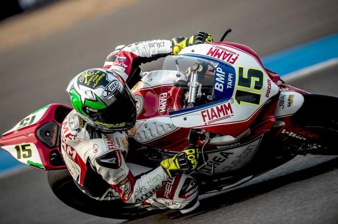 Nejlepším jezdcem Ducati byl v Thajsku Ital Baiocco