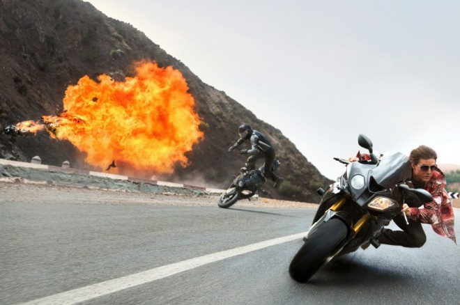 BMW S1000RR si zahraje ve filmu Mission: Impossible