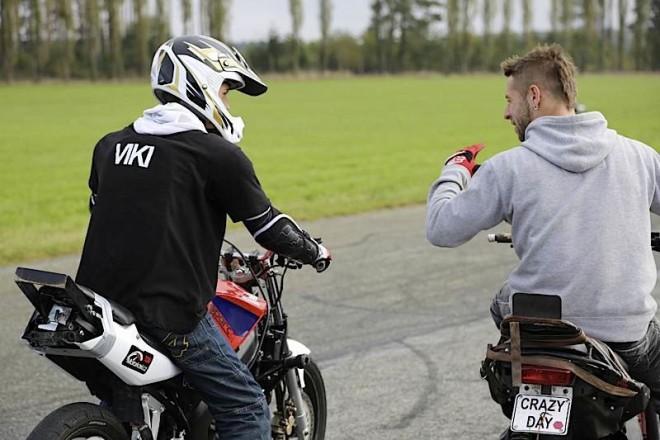 Teenager Motokemp - motoškola pro nezletilé