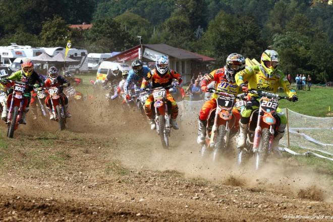 Zahajovací závod sezony Lorenc - Logistic MMÈR Junior 2015 v Netolicích