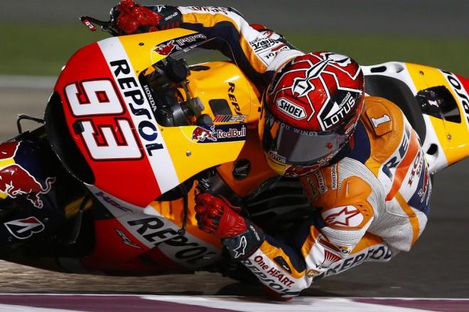 Márquez zatím nejrychlejší, Pedrosa je pátý
